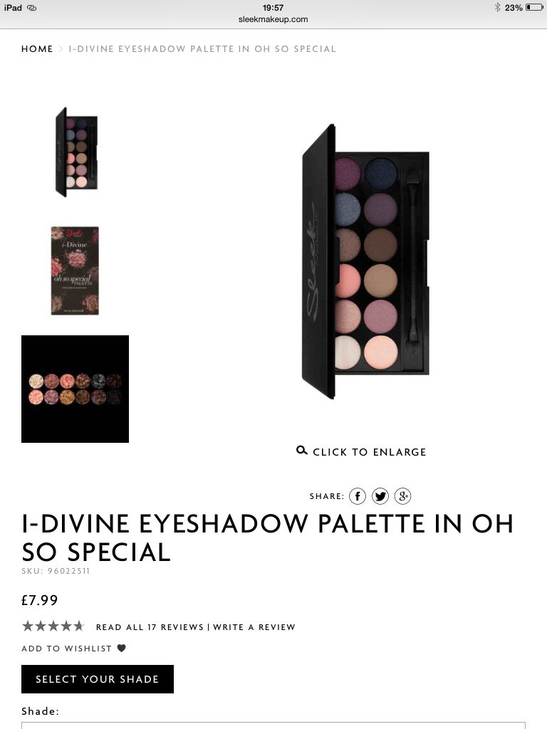 I own a few palettes and was recently bought the Del Mar Vol. II and love it. Not used it yet but saving it for the Ed Sheeran concert.
