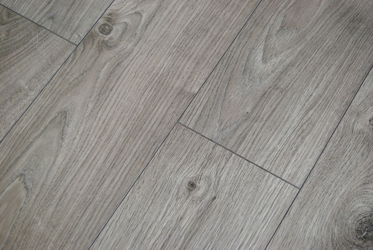 Laminaat Antraciet Kronotex Atlas Oak Anthracite 12mm V Groove Ac5 Laminate