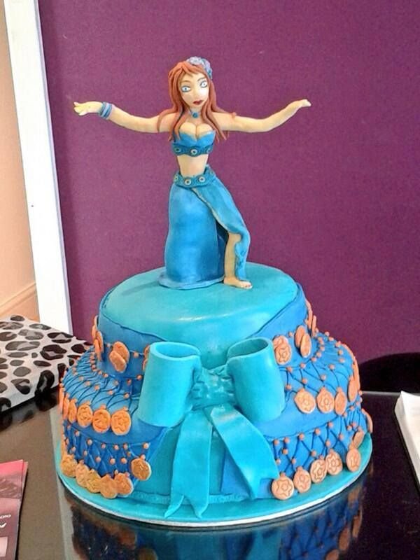 Belly Dancer Cake Topper