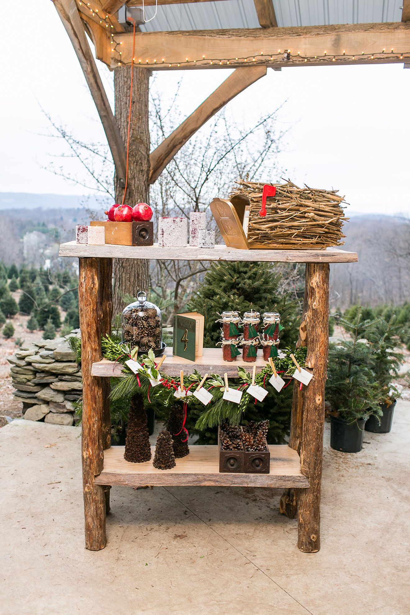 Rustic Wintry Wedding Inspiration at Emmerich Tree Farm
