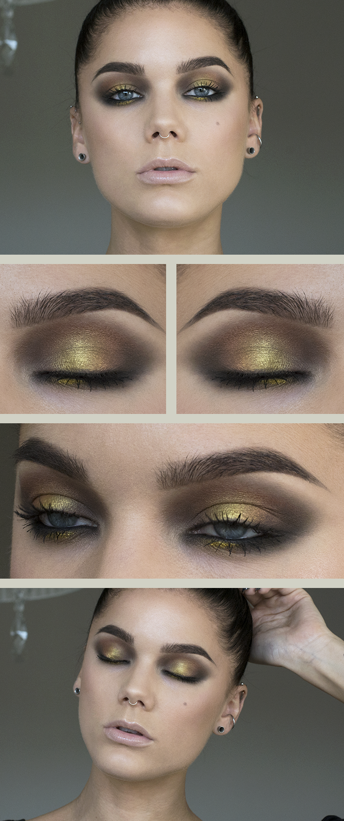Todays look liquid gold (Linda Hallberg) Magical