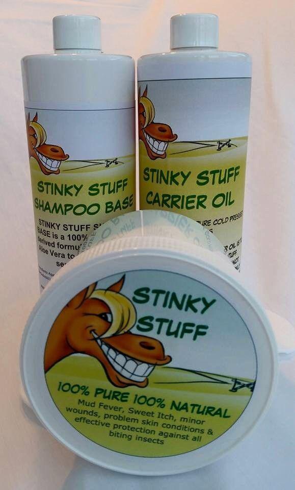 stinky stuff itchy skin