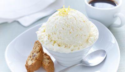 Creme Glacee Au Citron In 2020 Homemade Ice Cream Recipes Lemon Ice Cream Yummy Ice Cream