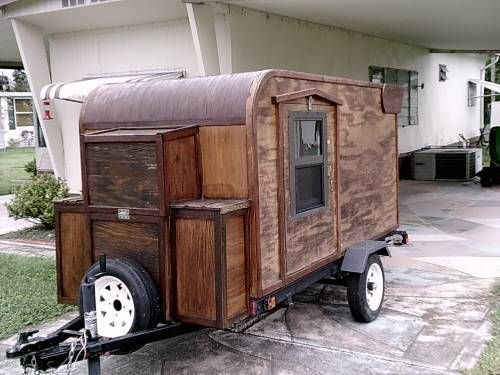 Mini Camper Homemade Mini Camper Camper Cool Campers
