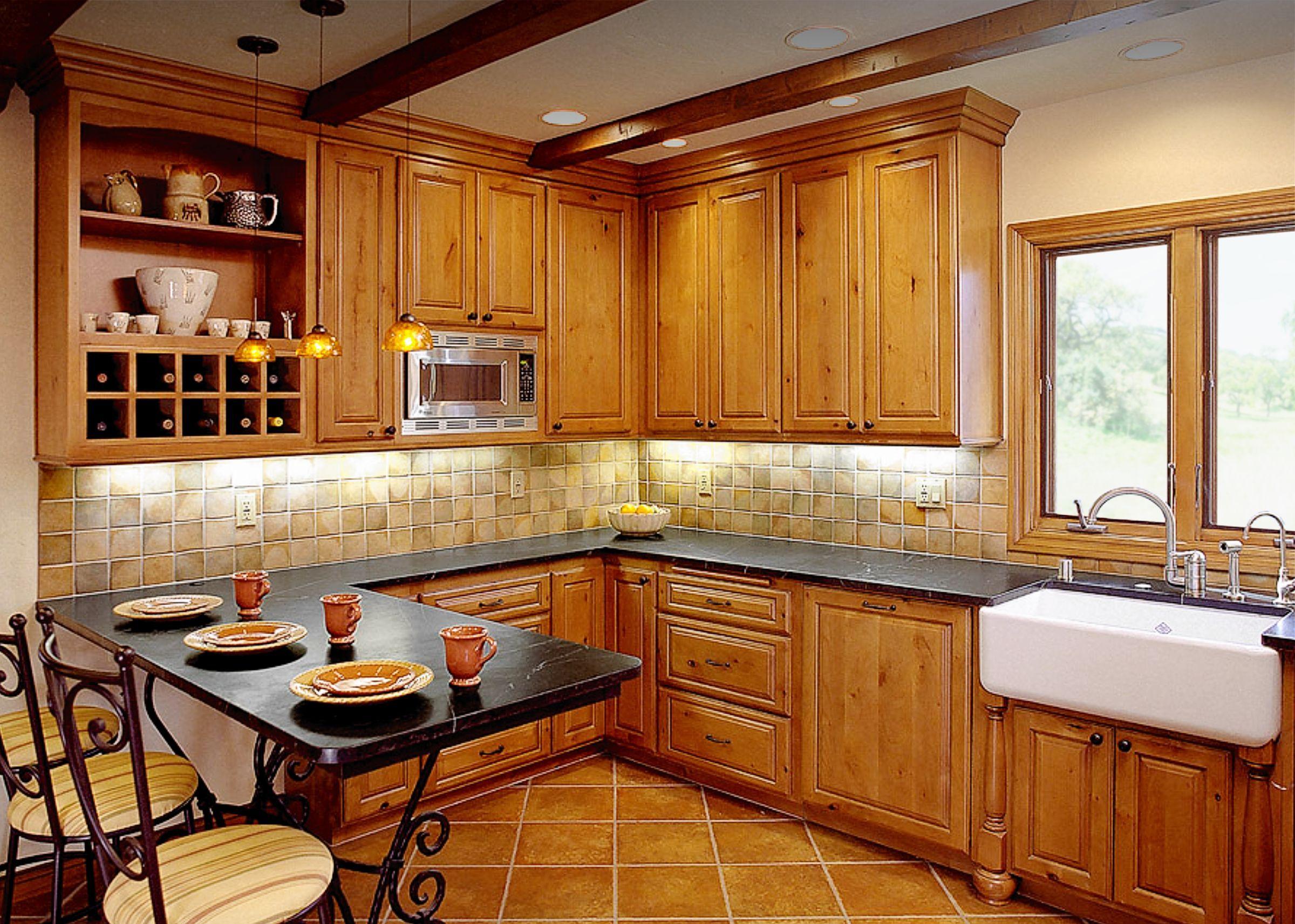 Rustic Remix Kitchen Remodel Long Beach Ca An Open Shelf Cabinet With Cubby Diy Dekoration Hochzeit Dekoration Diy Dekoration
