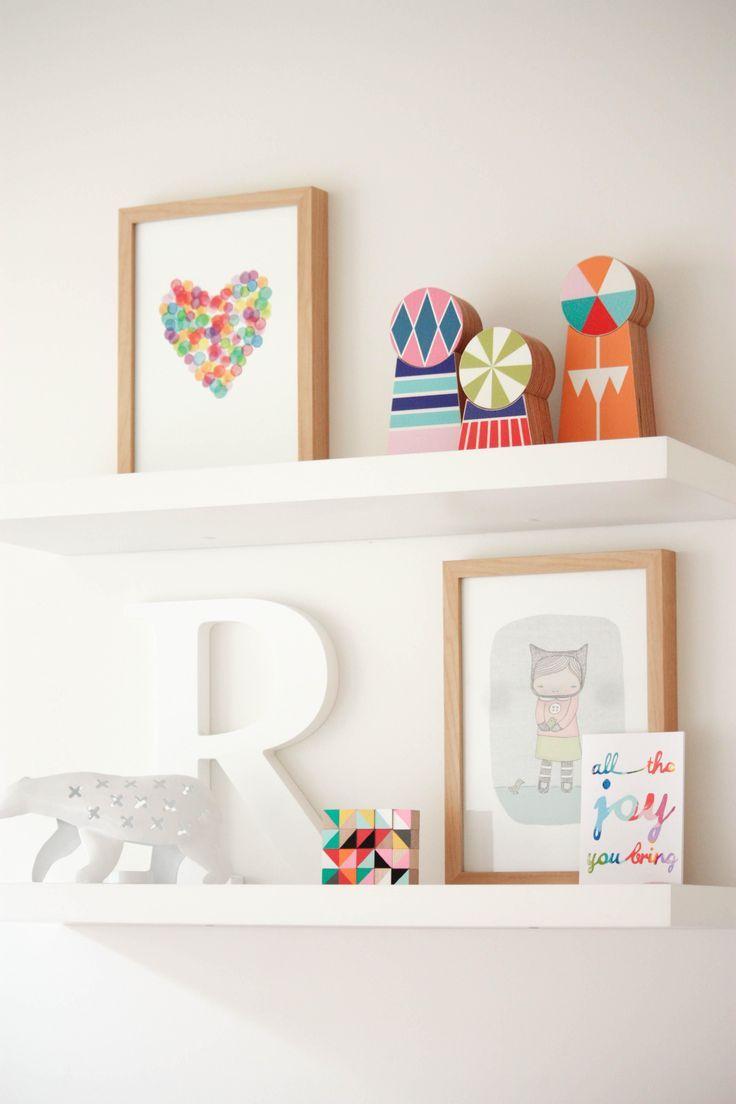 Pin by Sheri Harvey on Baby GIRL room | Floating shelves, Shelves ...