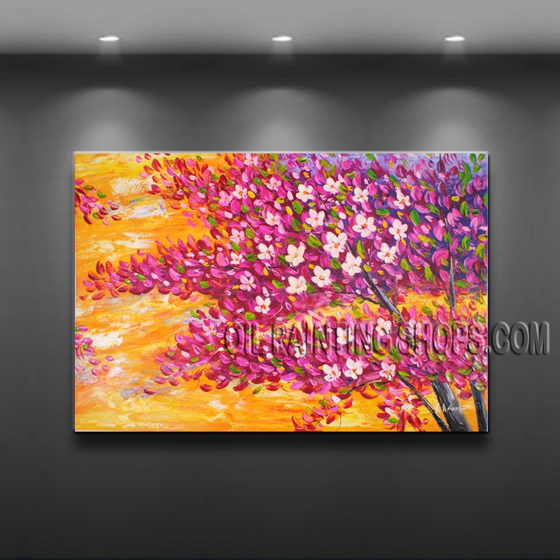 Amazing Contemporary Wall Art Landscape Painting Tree Artist ...