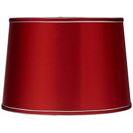 Sydnee Satin Red Drum Lamp Shade 14x16x11 (Spider) #Y5651
