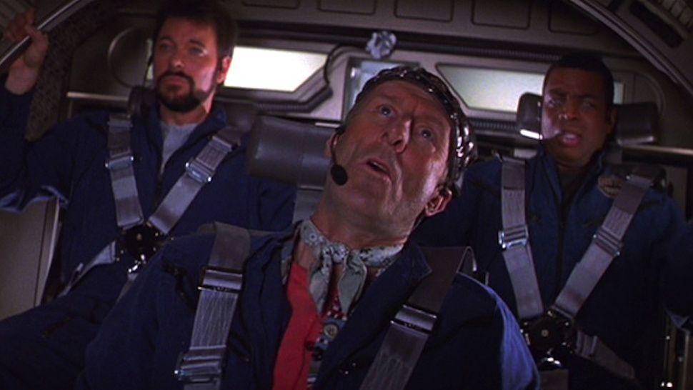 Will Geordie And Zephram Inside The Phoenix Star Trek Enterprise Star Trek Universe Star Trek