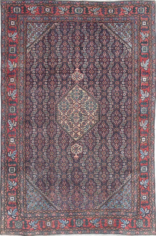 Hand Knotted Carpet 6 1 X 9 2 Persian Vintage Wool Rug Discounted Price Vintage Wool Rug Knotted Carpet Wool Rug