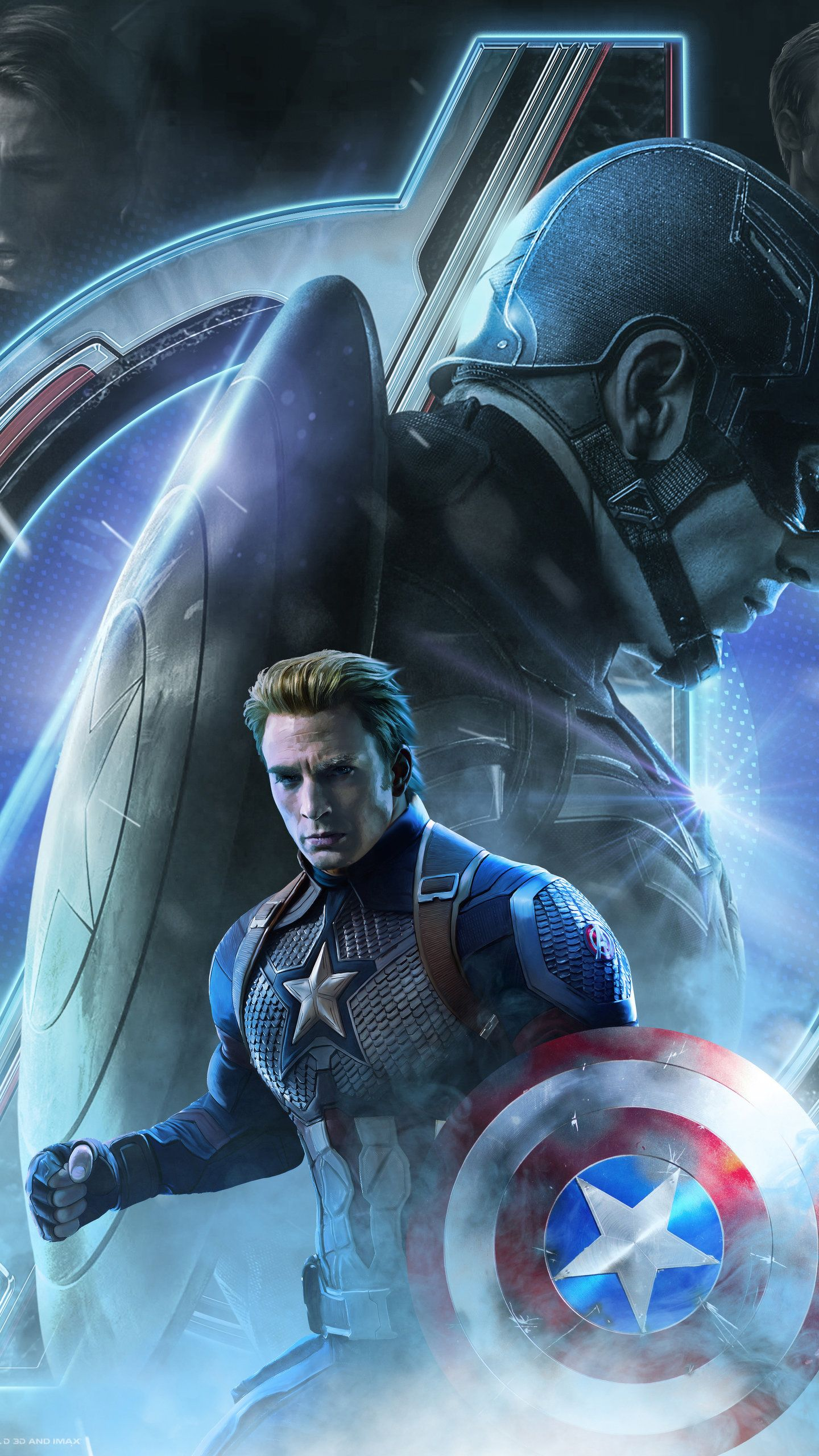 Captain America In Avengers Endgame 2019 Hd Wallpaper 2020