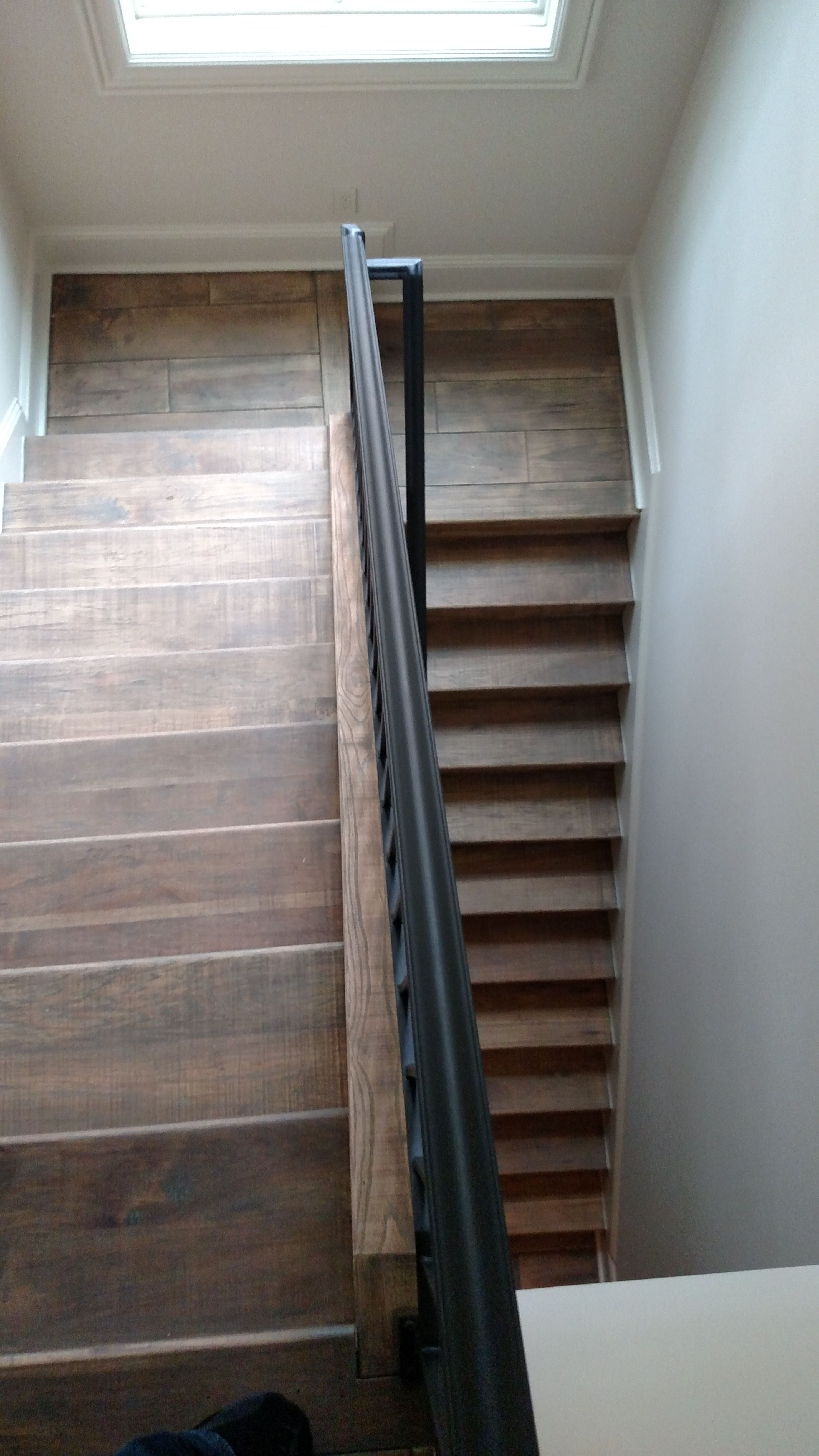 Best Hickory Wood Stairs Wood Stairs Prefinished Hardwood 640 x 480