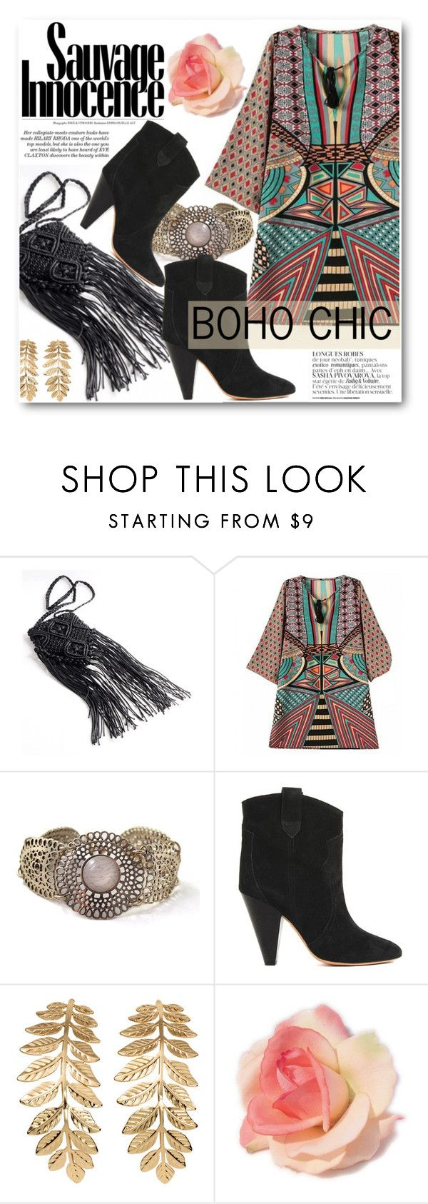"""Boho Chic"" by black-fashion83 ❤ liked on Polyvore featuring Isabel Marant, H&M, vintage and stylemoi"