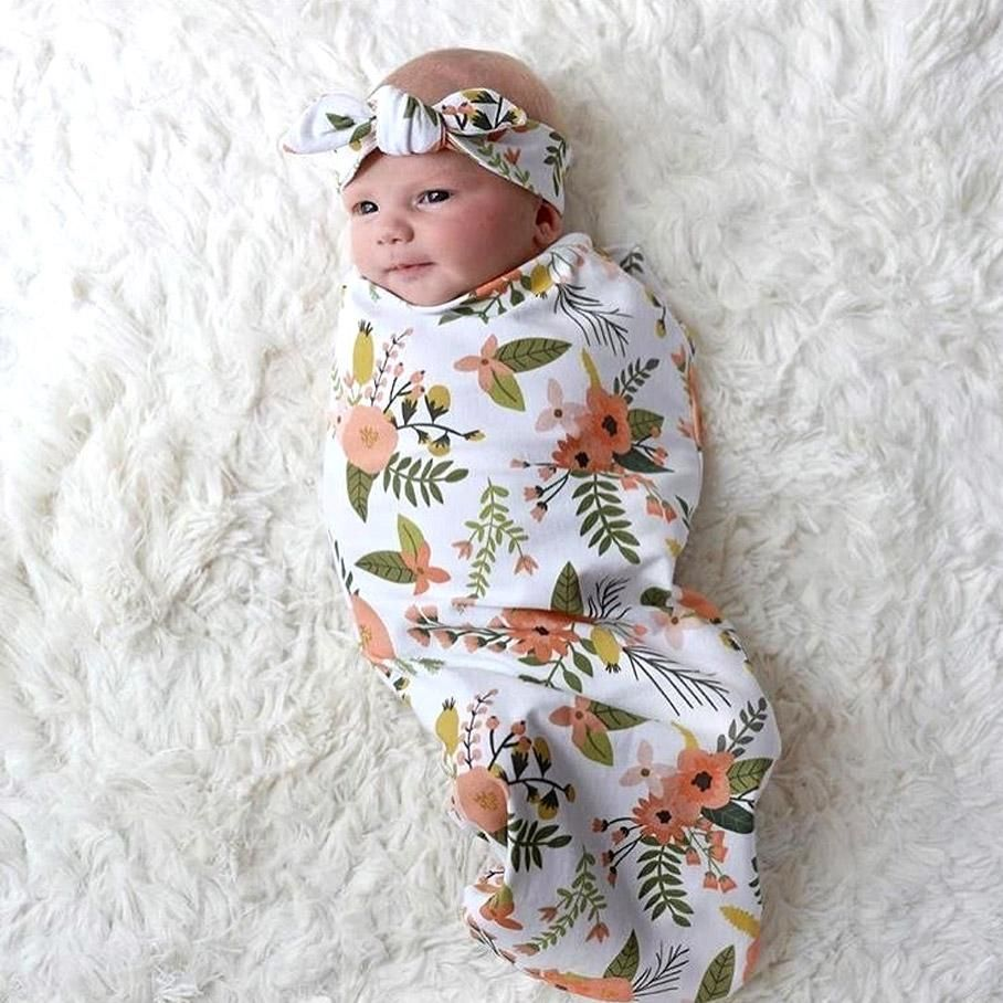 7ba36efd45 Totally adorable matching swaddles and headband sets to wrap up your cute  lil bundle of joy. Size  65cm x 29cm Material  Cotton Age Range  0-3 months  ...