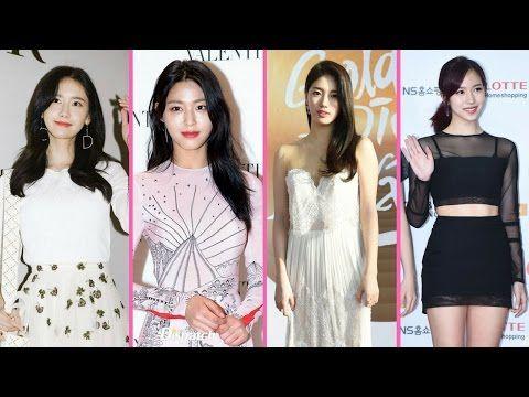 Top 6 Red Carpet Beauties Of K Pop According To Dispatch