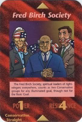 Illuminati Card Game -Fred Birch Society   Illuminati   Pinterest   イルミナティ