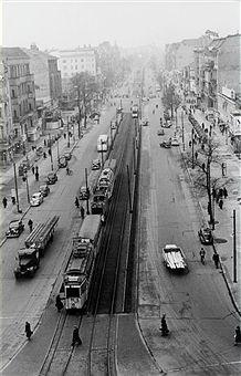 Berlin,Strassenbahn Verkehr in Berlin (1946)aber wo?
