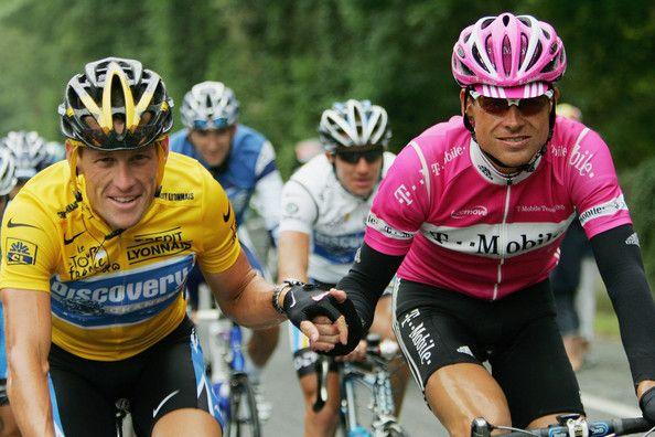 Jan Ullrich Lance Armstrong Photos Photos 2005 Tour De France