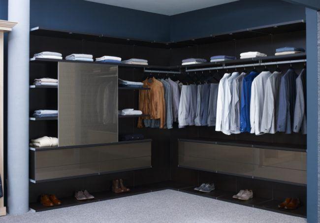Begehbarer Kleiderschrank Selber Bauen Wandregale Boden Raumplanung
