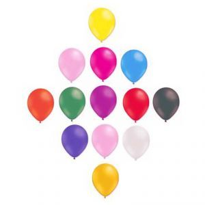 Multicolore 50 Ballons gonflables
