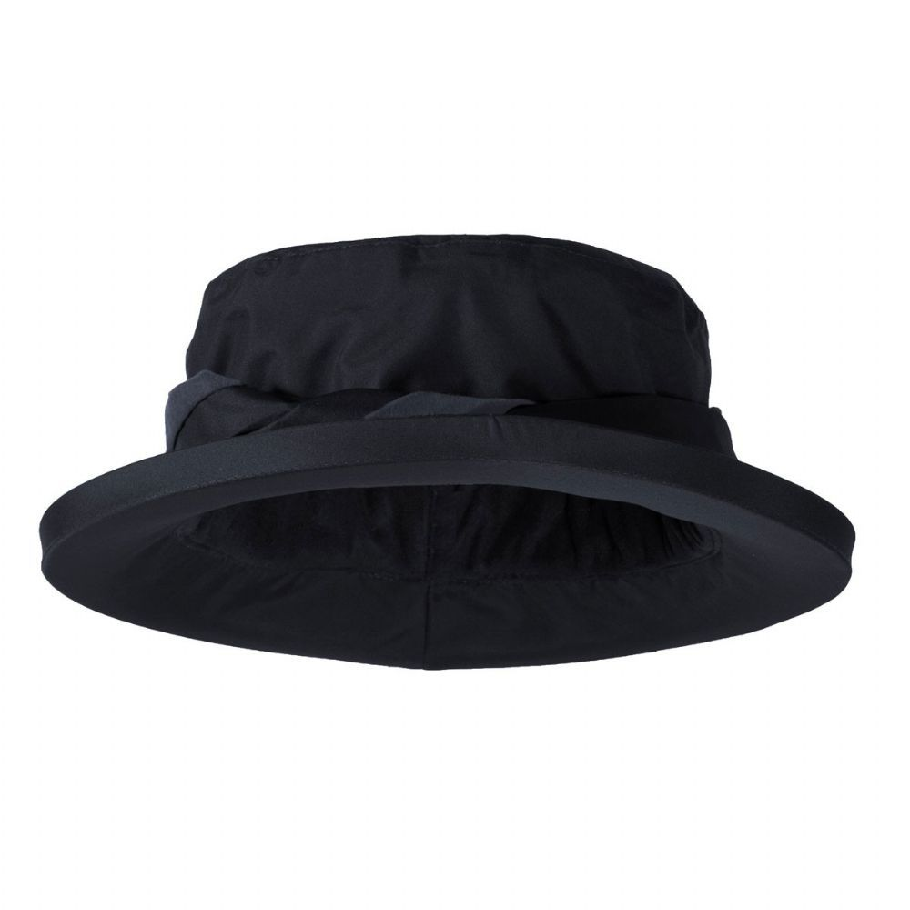 9ff787029e3 Target Dry Ladies Canterbury Rain Hat - Jet Black The Canterbury Hat is a  fleece-lined waterproof hat for Women that features a stylish Suedette trim