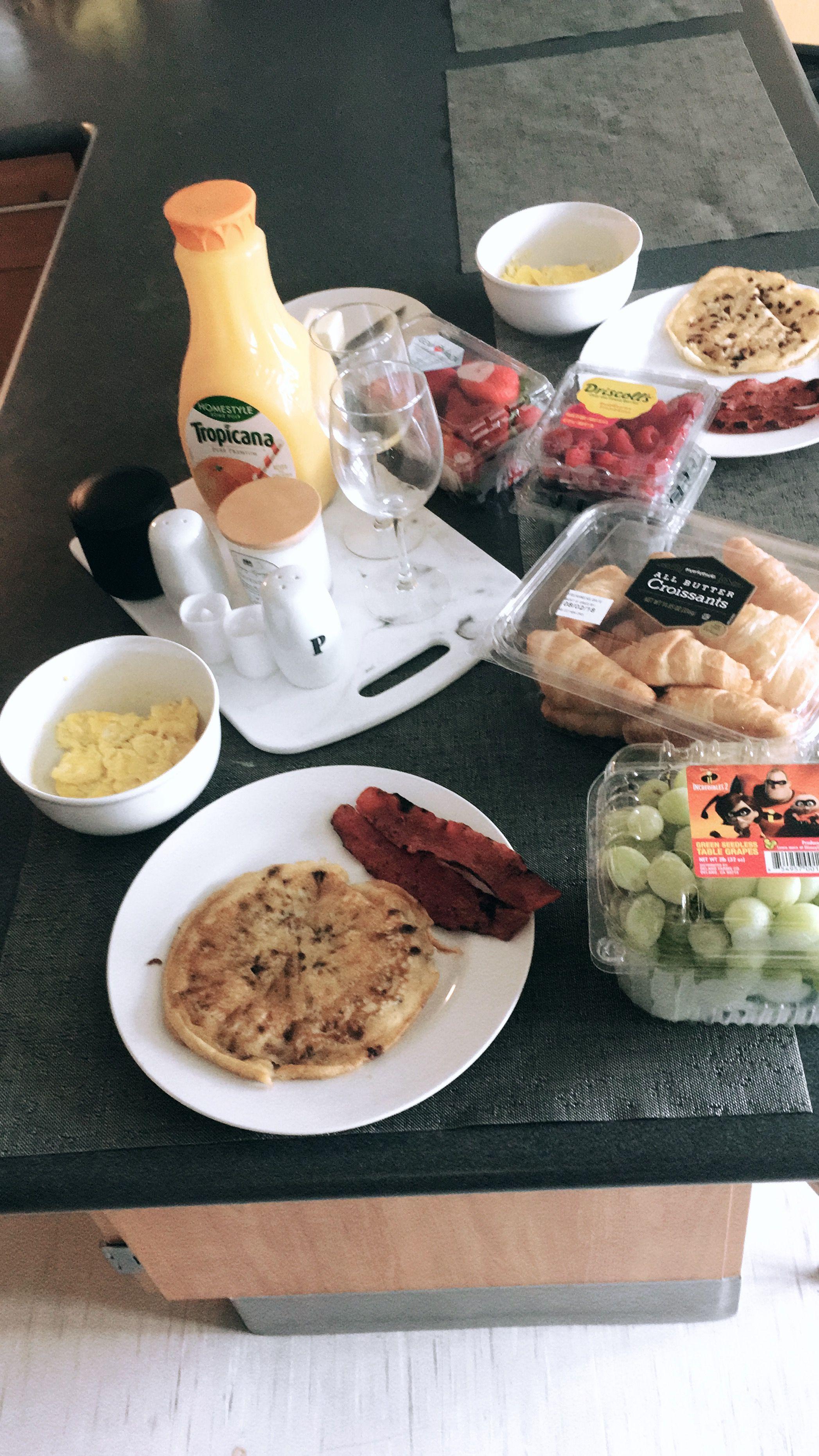 romantic breakfast • welcome home • surprise • boyfriend ...