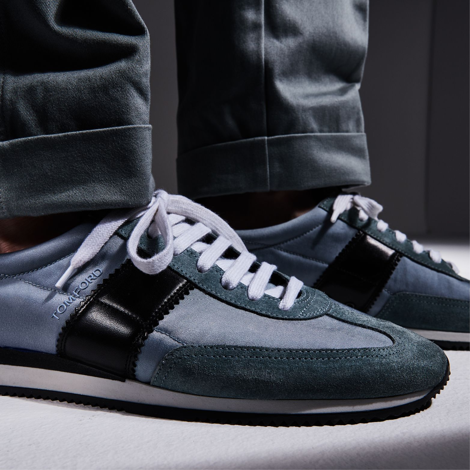 42a05e2f2ff The classic Orford Sneaker updated in lighter Spring tones.  TOMFORD ...