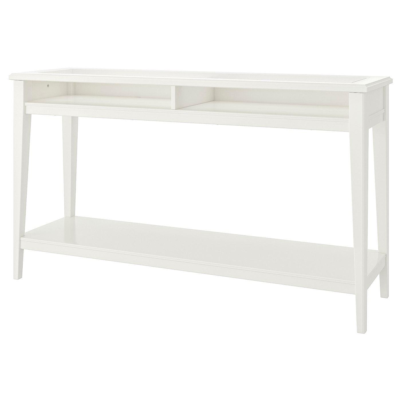 Liatorp Ablagetisch Weiss Glas 133x37 Cm Ikea Osterreich Liatorp Console Table White Console Table [ 1400 x 1400 Pixel ]