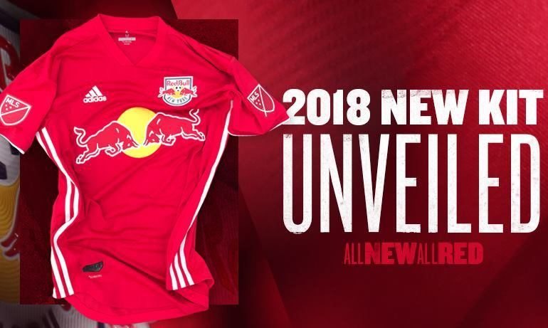 c0d6734e0 New York Red Bulls 2018 adidas Red Jersey