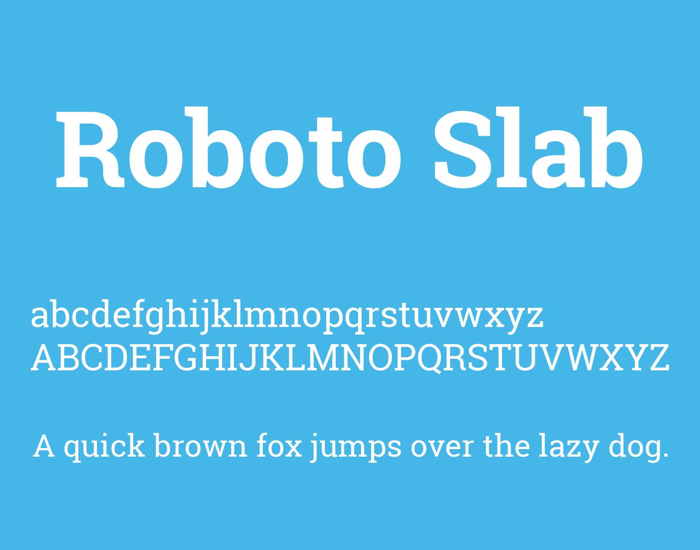 Roboto Slab Font Free Download | Fonts | Free fonts download, Fonts