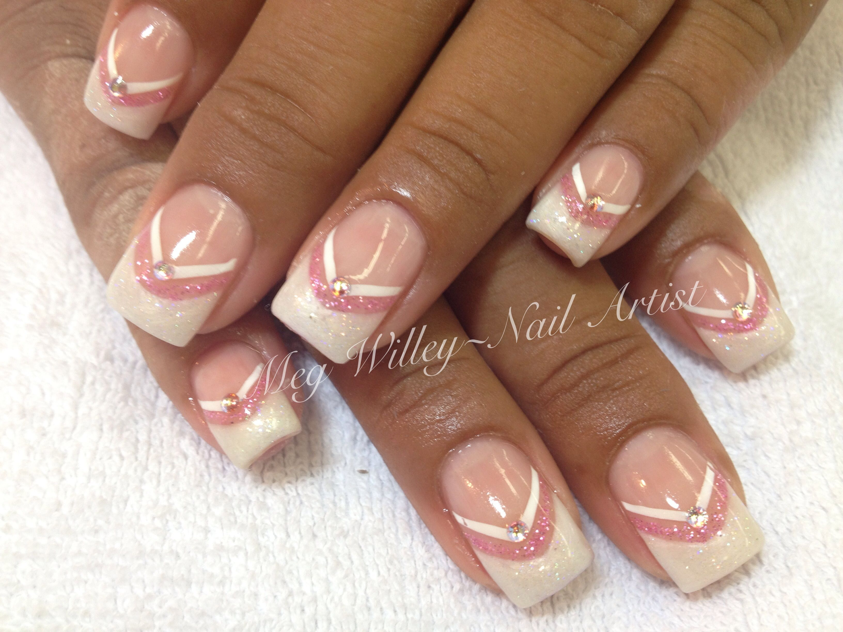 Princess nails | Meg\'s nail designs | Pinterest | Sailor moon