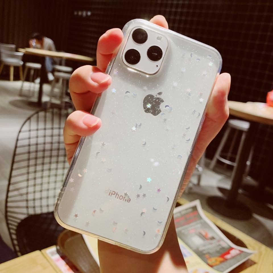 Bling Glitter Star For Apple Iphone 6 6s 7 8 Plus 11 Pro 10 X Xs Xr Max In 2020 Iphone Iphone Phone Cases Iphone Cases