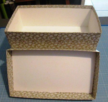 Jolie boite de rangement - Patine production (avec images)   Jolies boîtes de rangement, Boite ...
