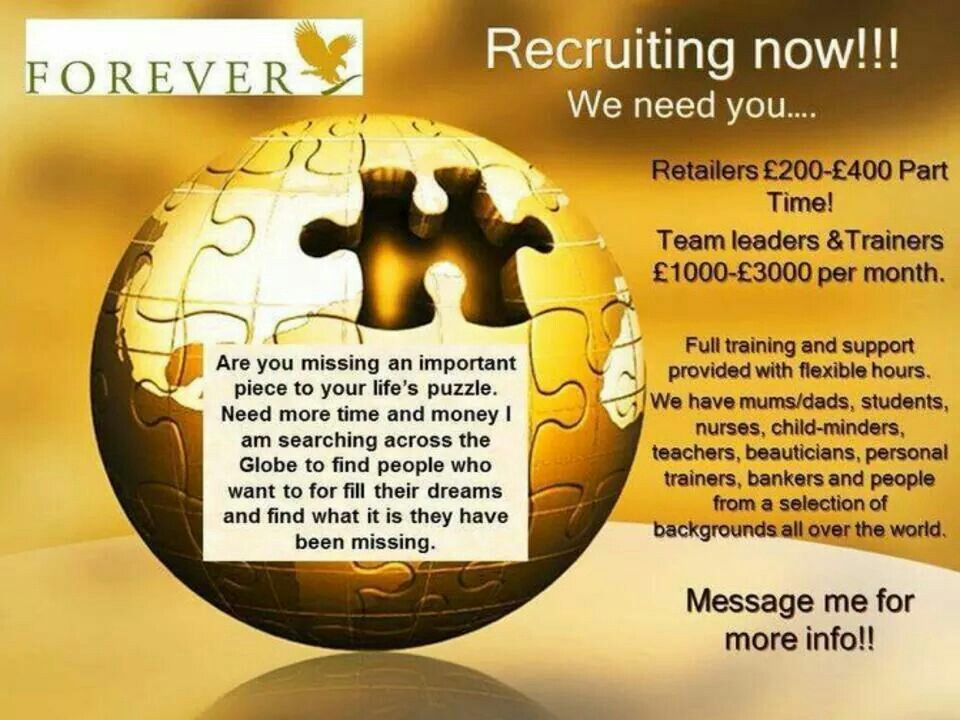 ***RECRUITING***  I'm looking for 3 key people who want this amazing opportunity!  Is this of interest to you? Message for details....