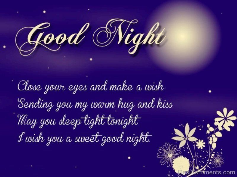 I wish you a sweet good night good night pinterest explore good night love messages and more m4hsunfo Image collections