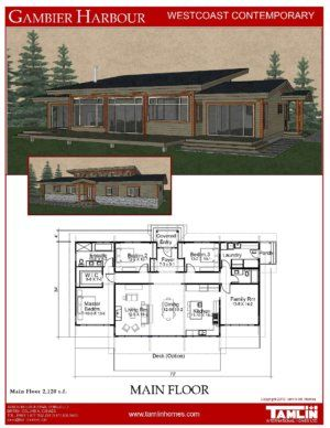 Tamlin contemporary and west coast style designed home plans build from our or have in house design team create something custom for you also designs floor pinterest rh