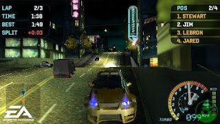 need for speed underground rivals iso