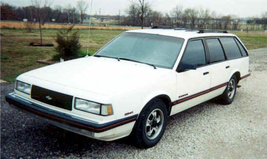 Chevrolet Celebrity Station Wagon Camaro Models Chevy Shooting Brake Redline