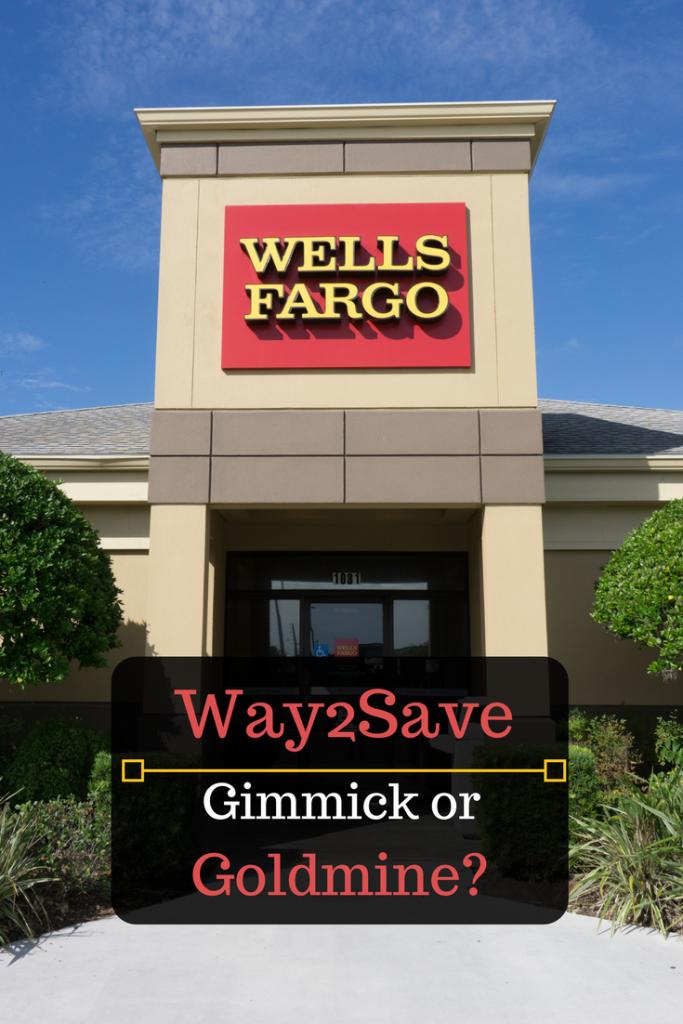 Wells Fargo Way2save Savings Account Review Wells Fargo Fargo Wellness
