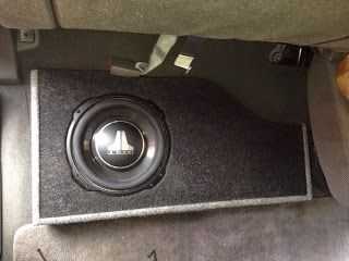 2007 Nissan Frontier Custom Subwoofer Box Custom Subwoofer Box Nissan Frontier Nissan