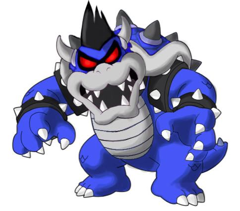 Dark Bowser After The Dark Star Absorbed Some Of Bowser S