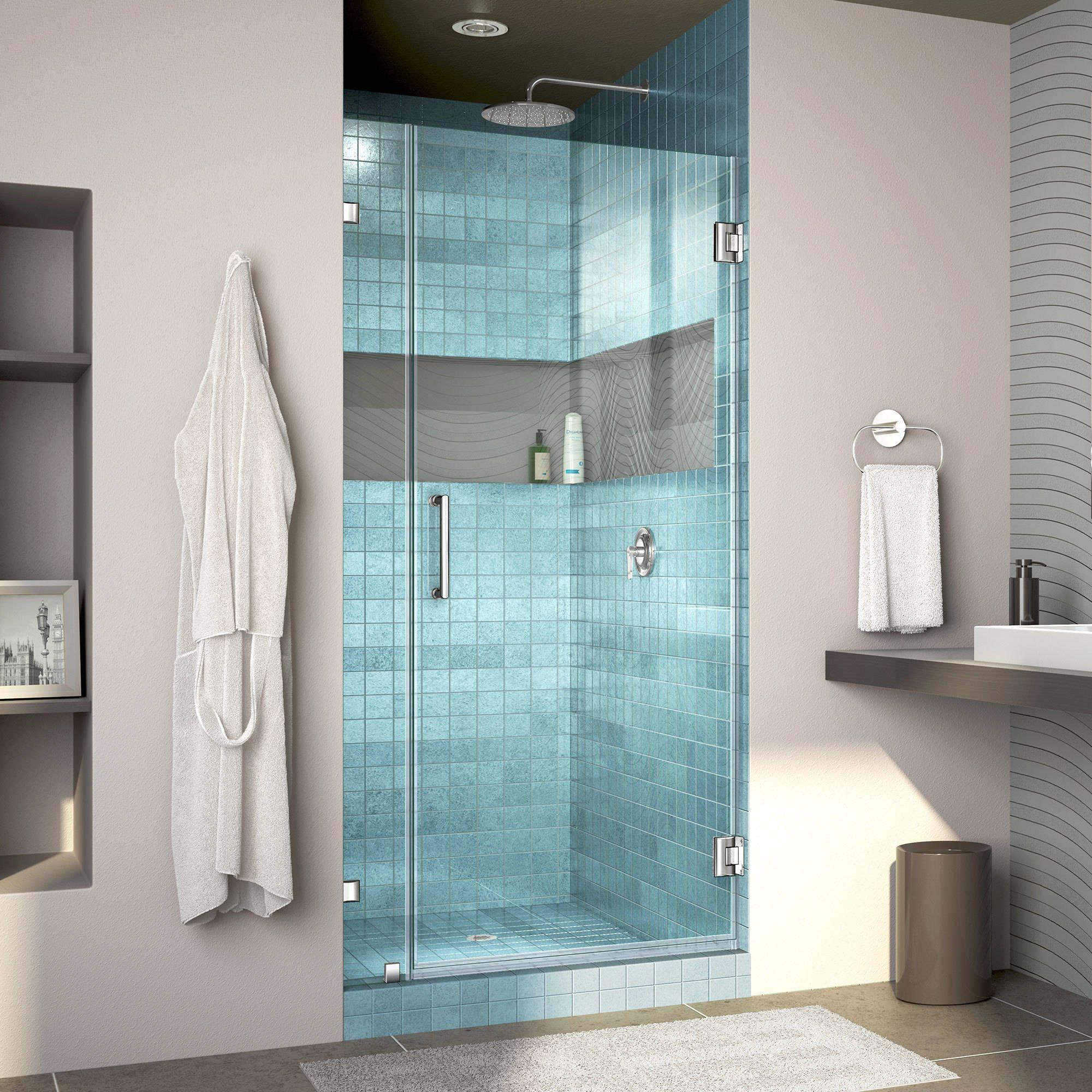 Dreamline Unidoorlux Frameless Shower Door (33 W X 72 H,
