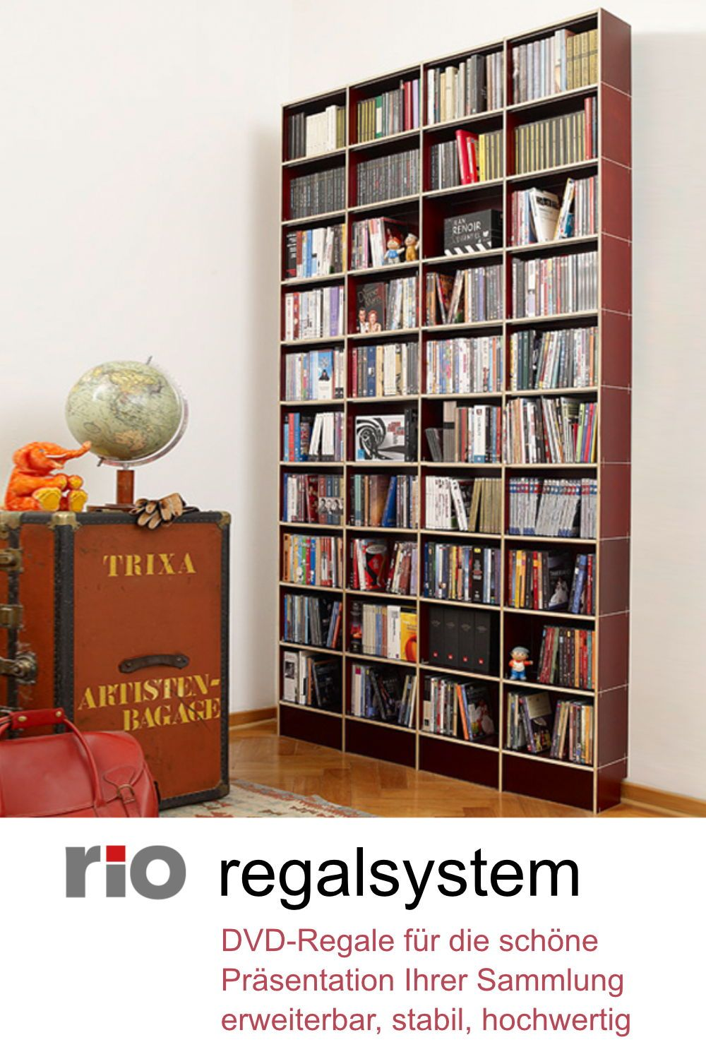 30 Bücherregale Book Shelves Ideen Regalsystem Regal Bücherregal