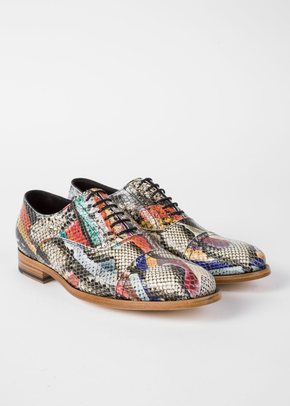 Leather 'Bertie' Brogues - Paul Smith