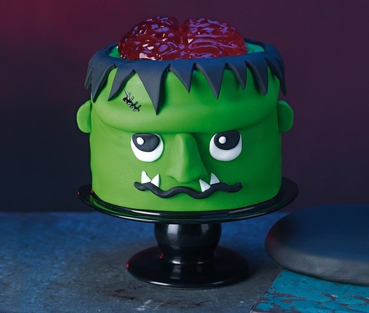 Asda good living monster cake halloween cakes cake