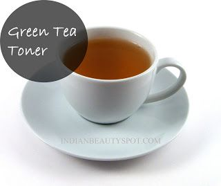 DIY: green tea toner for acne free and radiant skin