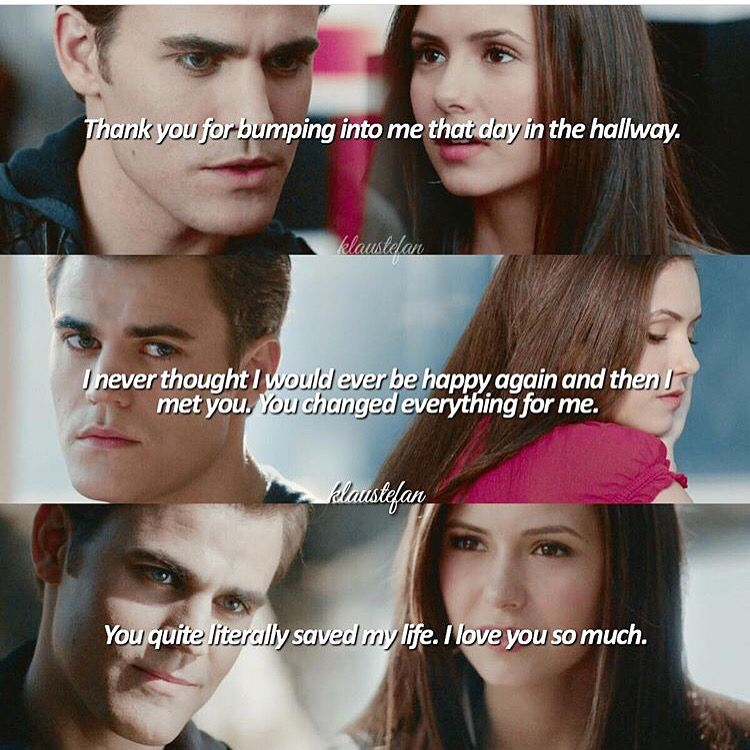 The Vampire Diaries Hits a little close to home