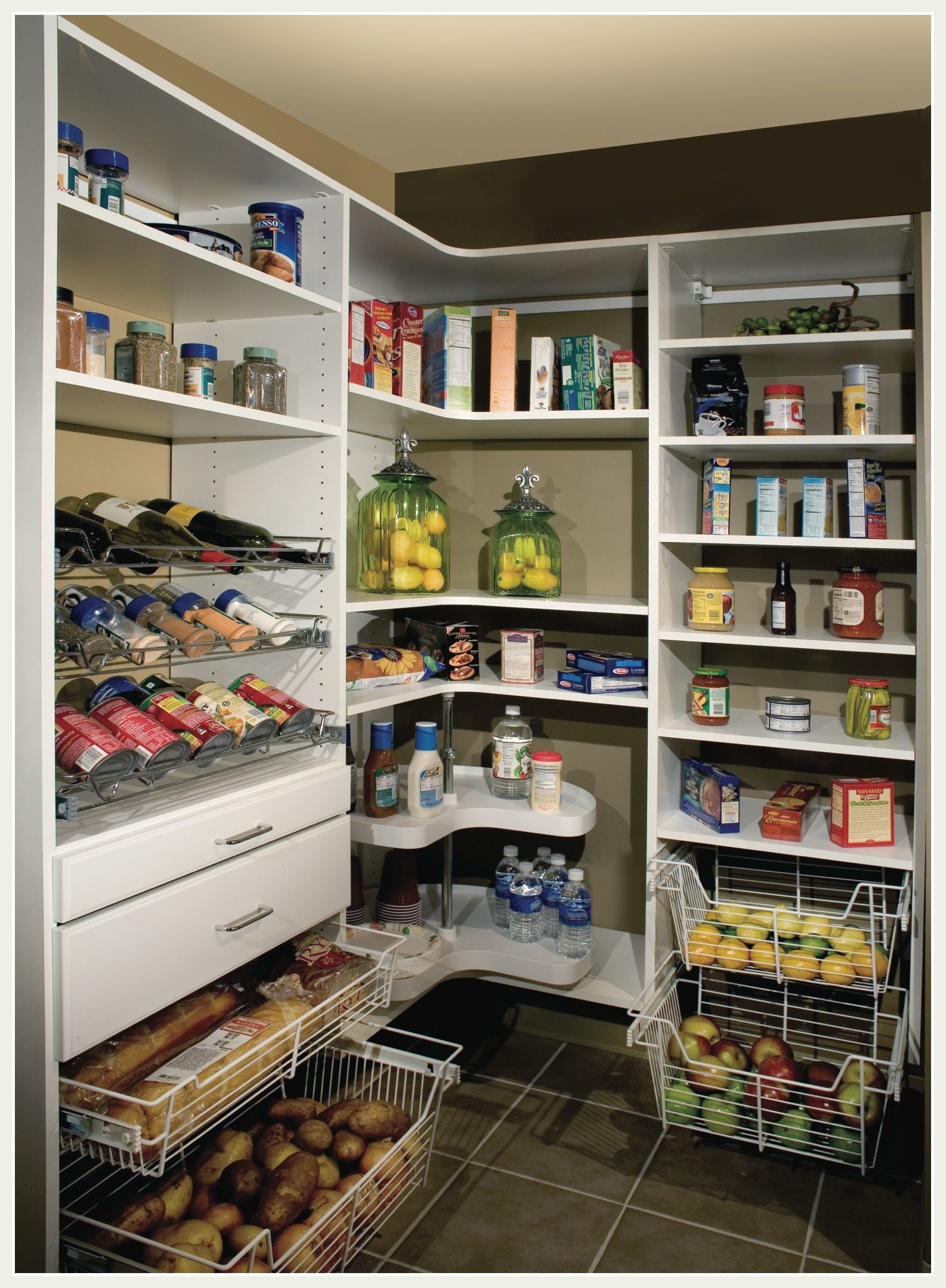 Turn Your Cluttered Pantry Into A Organized Storage Area. Call Us Today For  Your Free