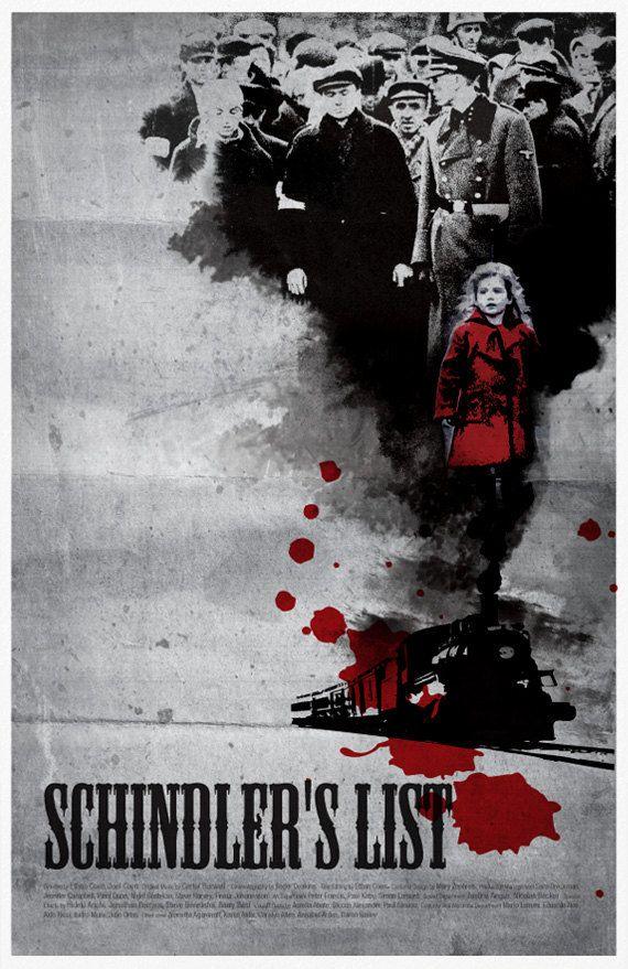 Schindler's List Movie Poster | Films | Schindler's list