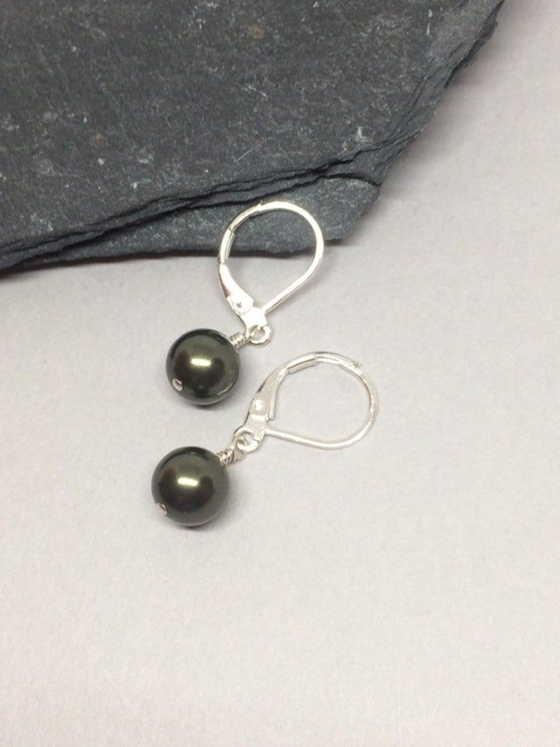 Details about  /Sterling Silver Large SODALITE Dangle Gemstone Earrings #3212...Handmade USA